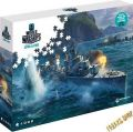 SPW Puzzle World of Warships - Pan Asia Destroyers  -1500 Teile-