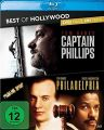 Blu-Ray 2 in 1: Captain Phillips & Philadelphia  'Best of Hollywood'  2 Movie Collector's Pack 88