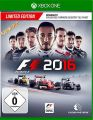 XB-One F1 2016  Limited Ed. inkl. Karriere-Booster DLC  D1