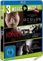 Blu-Ray 3 Movies - Oculus & Mr. Jones & The New Daughter
