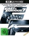 Blu-Ray Fast 7 & the Furious  Extended Version  4K Ultra  (UHD + BR)  2 Discs  Min:140/DD5.1/WS