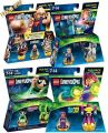 FG LEGO: Dimensions Sparpack 4 in 1 Level Pack: Goonies + Fun Packs H. Potter + Powerpuff Girls + Teen Titans