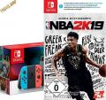 Switch Konsole neonrot + NBA 2k19 Nintendo