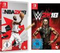 Switch 2 in 1: Cyber Week - NBA + WWE 2k18