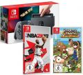 Switch Konsole grau incl. Harvest Moon S.E. & NBA 2k18