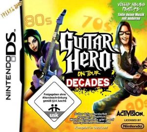 DS Guitar Hero - Decades  (Software)  (RESTPOSTEN)