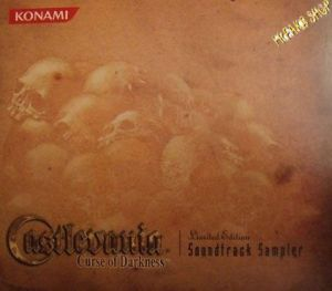 CD Castlevania - Curse of Darkness  Lim. Soundtrack Sampler  (RESTPOSTEN)