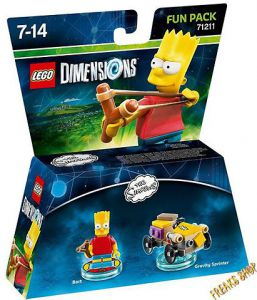 FG LEGO: Dimensions Fun Pack - Bart Simpsons