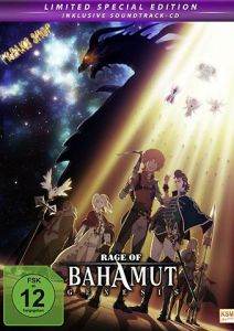 DVD Anime: Rage of Bahamut: Genesis  Gesamt-Edition  Limited Edition  inkl. CD  -im Mediabook-