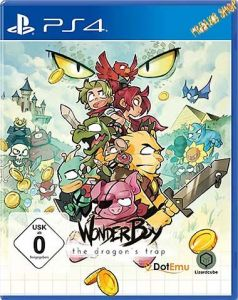 PS4 Wonderboy - The Dragon's Trap