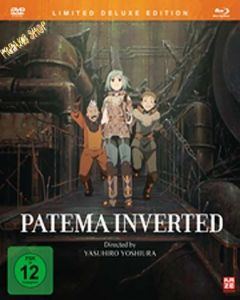 Blu-Ray Anime: Patema Inverted  Limited Collector's Edition  (BR + DVD)