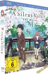 Blu-Ray Anime: A Silent Voice  Deluxe Edition  Min:135/DD5.1/WS