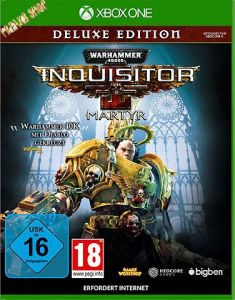 XB-One Warhammer Inquisitor Martyr - Warhammer 40.000  Deluxe Edition