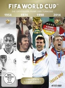 DVD FIFA World Cup 1954 + 1974 + 1990 + 2014  4 DVDs  Min:380/DD2.0/WS