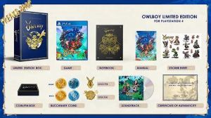 PS4 Owlboy  Limited Edition  (12.07.18)