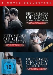 DVD Fifty Shades of Grey  Movie Collection  3 DVDs