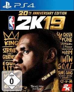 PS4 NBA 2k19  20th Anniversary