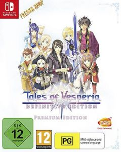 Switch Tales of Vesperia  Definitive Edition