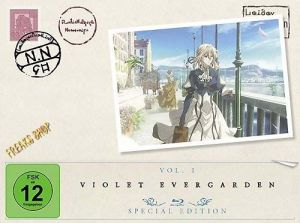 Blu-Ray Anime: Violet Evergarden  Staffel 1.1  Limited Special Edition  Min:72/DD/WS