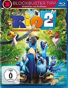 Blu-Ray RIO 2 - Dschungelfieber  -Artwork Refresh-  Min:106/DD5.1/WS