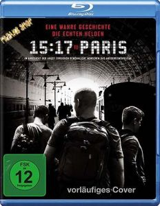 Blu-Ray 15:17 to Paris  Min:94/DD5.1/WS