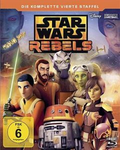 Blu-Ray Star Wars: Rebels  Staffel 4  -komplett-  2 Discs  Min:339/DD5.1/WS