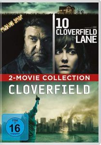 DVD 2 in 1: Cloverfield & 10 Cloverfield Lane  2 DVDs  Min:180/DD5.1/WS