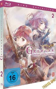 Blu-Ray Anime: Grimgar - Ashes and Illusions  Vol. 2  Min:100/DD/WS