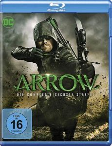 Blu-Ray Arrow  Staffel 6  -komplett-  4 Discs  Min:1092/DD5.1/WS