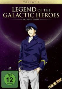 DVD Anime: Legend of the Galactic Heroes - Die neue These  Vol. 2  Min:96/DD5.1/WS