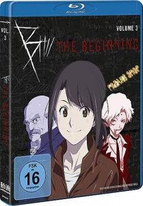 Blu-Ray Anime: B: The Beginning  Vol. 3  Min:99/DD5.1/WS