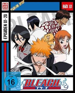 Blu-Ray Anime: Bleach  TV Serie  BOX 1  3 Discs  -Episoden 01-20-