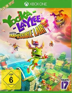 XB-One Yooka Laylee and the impossible Lair 2